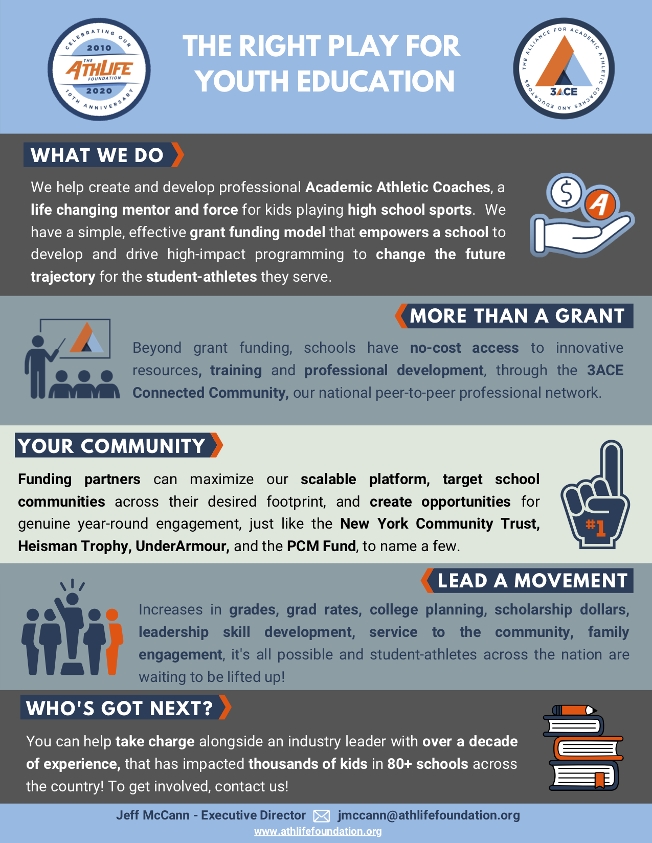 One-Pager - Funders
